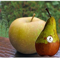 Caja combinada de pera y manzana. 4Kg aprox.