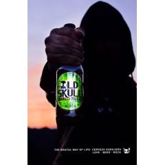 Cerveza Old Skull - Pale Ale. Caja 12 unidades 33cl. 5% alc.vol.