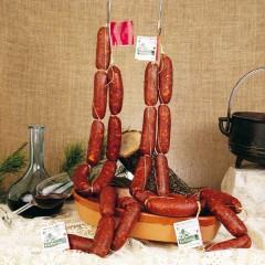Chorizo dulce extra del Bierzo Emb.La Encina 700gr aprox.