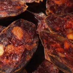 Chorizo curado puro de vaca 4 piezas Emb.La Encina