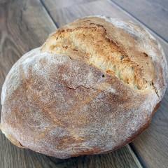 Pan de hogaza de leña 500 grs.