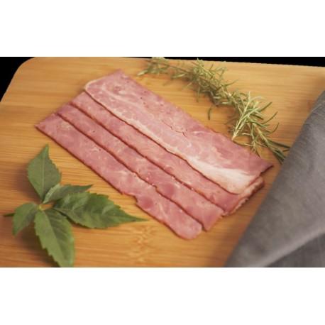 Bacon vacuno Halal en tacos