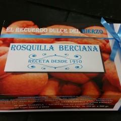 Rosquilla berciana de castañas
