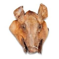 Cabeza de cerdo 2m5 Kg aprox